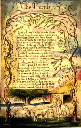 essay on the lamb by william blake